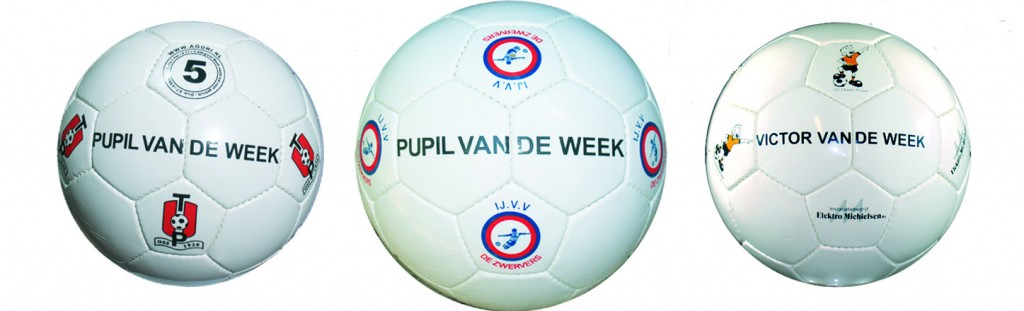 Pupil van de week bal pic